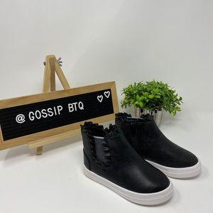Black Casual Booties